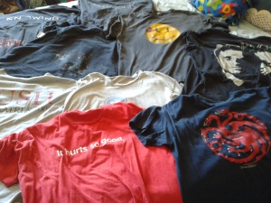Shirts from Comic Con